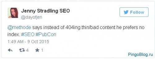 Google: избавляться от некачественного контента лучше тегом noindex, а не удалением страниц