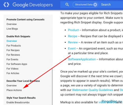 Google планирует обогатить возможности разметки для расширенных сниппетов