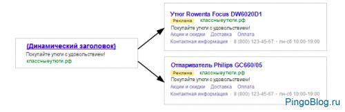 Яндекс Директ дал старт открытой бете динамических объявлений
